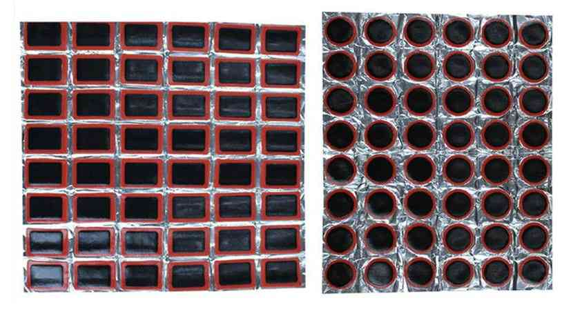Round / Square Rubber Bicycle Tire Patch, Cycle Repair Tools