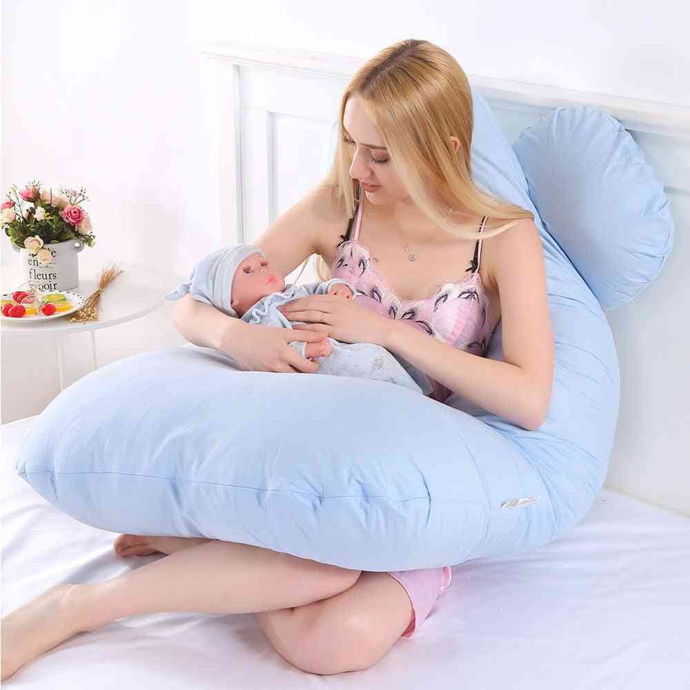 Ergonomic Design U-shaped Pregnancy-pillow