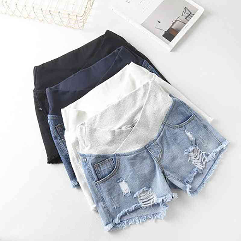 Summer Wlastic Waist Denim Shorts