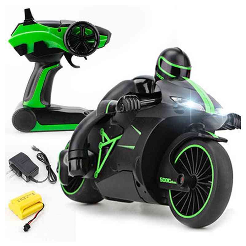 Mini High-speed Remote Control Drift Motorbike Toy For Kids