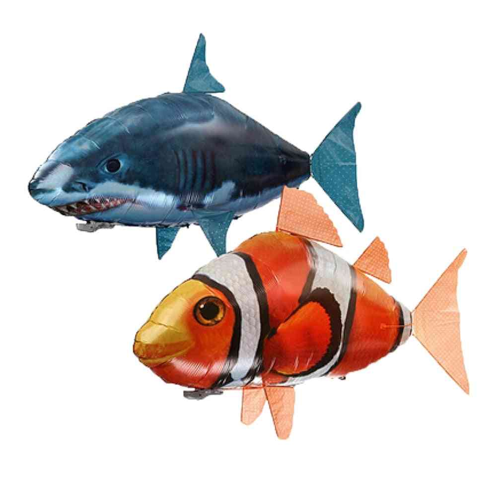 Remote Control Flying Shark And Clownfish