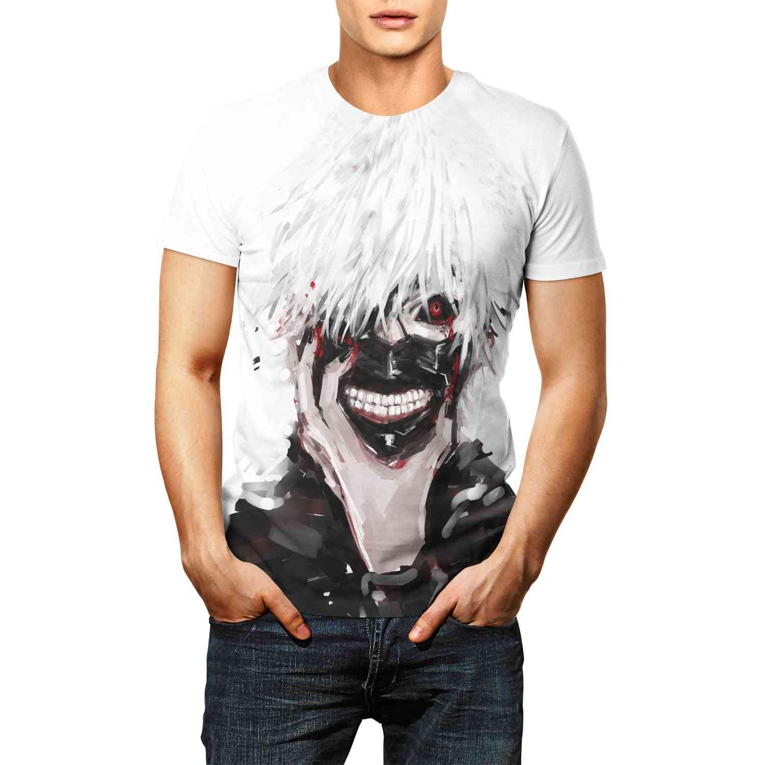 Anime Tokyo Ghoul T-shirt- Unisex Adult's Casual Clothing