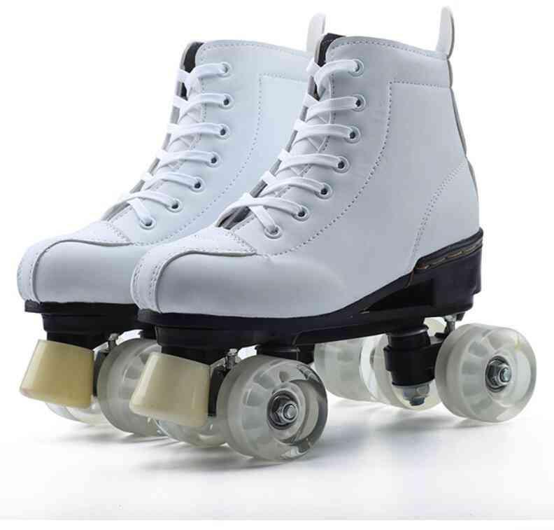 Children's Four-wheel Skates Shoes