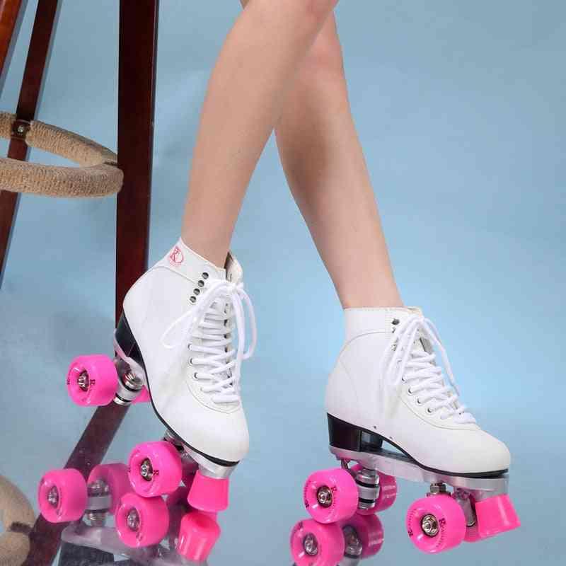 Double Roller Skates Shoes