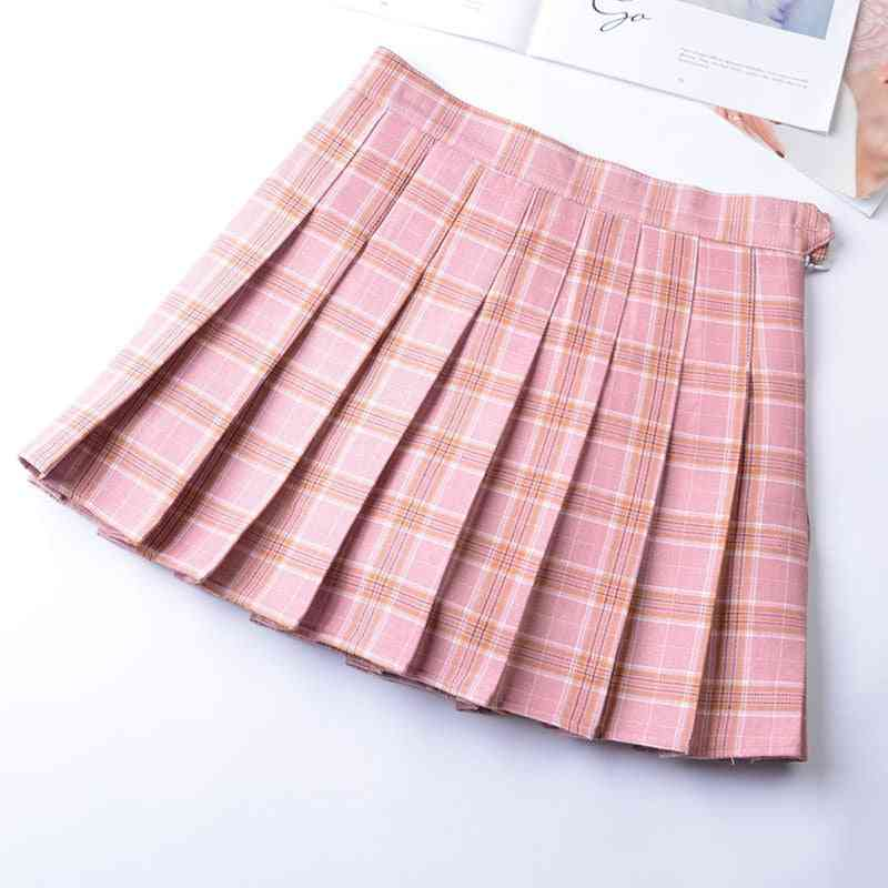 Mini Pleated Sports Skirt With Inner Shorts