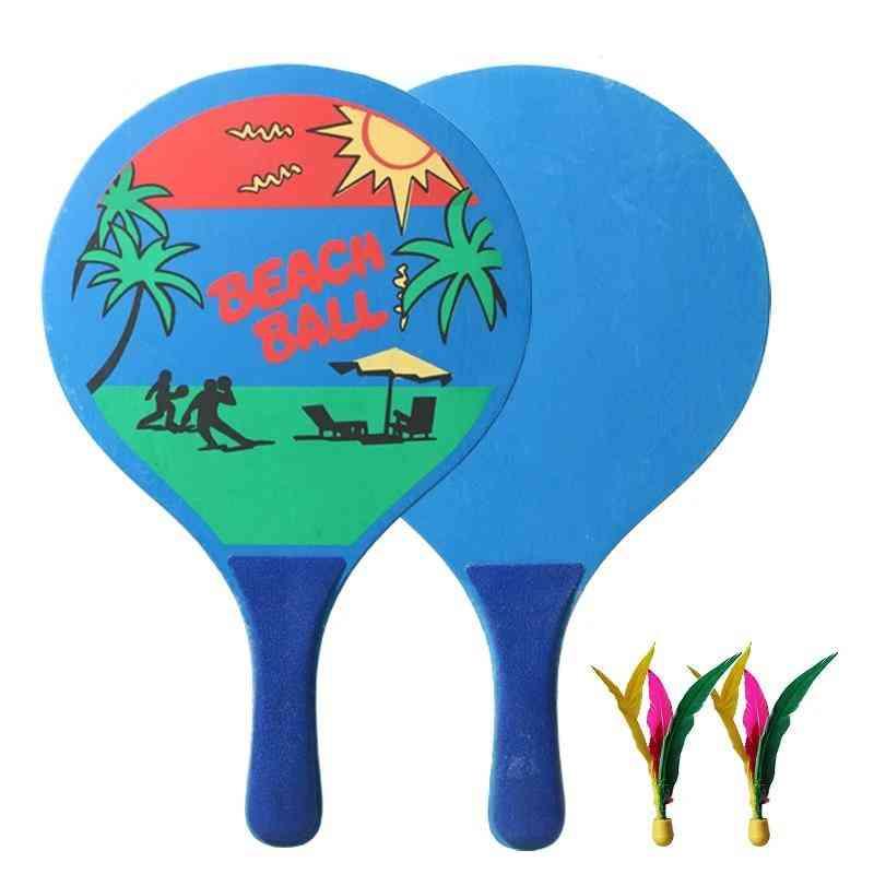 Seven Layers Of High-grade Wood- Board Badminton Racket