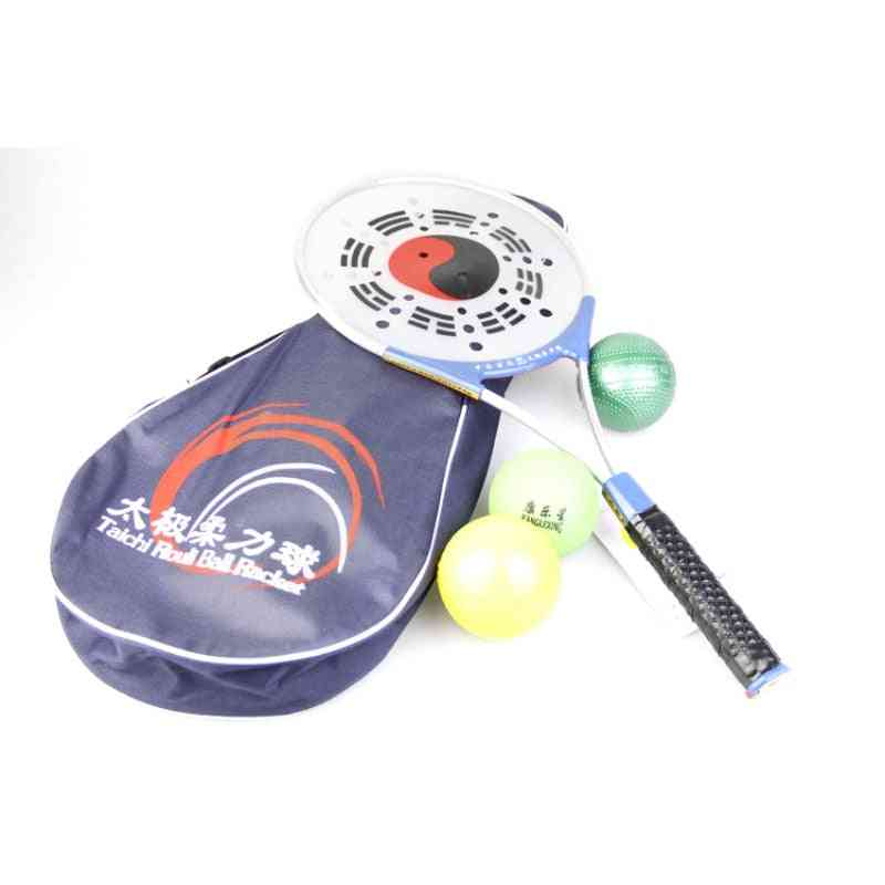 Rouli Ball And Racket For Soft Body Power Strength Exercise Indoor / Outdoor Easy To Use