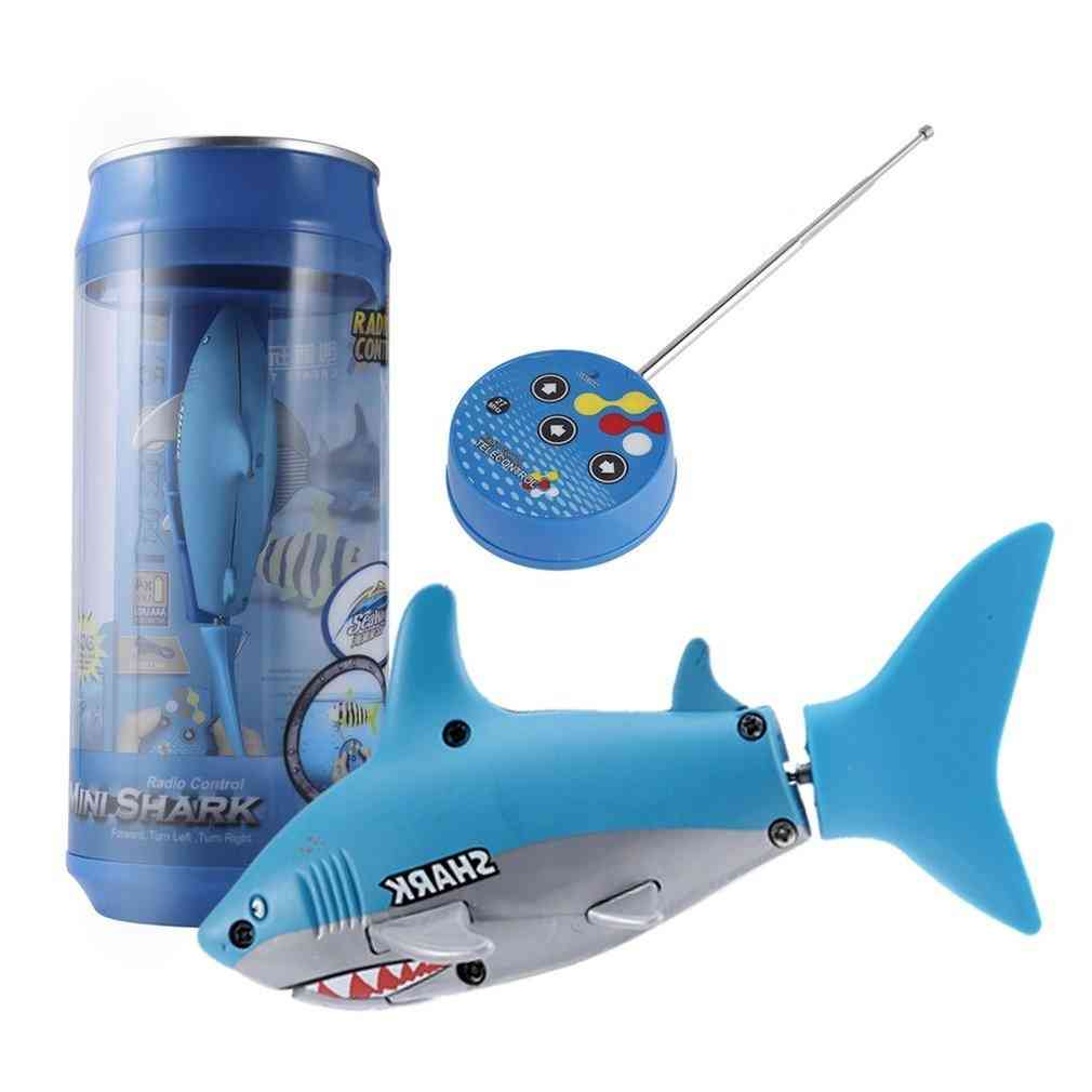 Mini Rc Submarine Small Sharks With Usb Remote Control Fish Toy