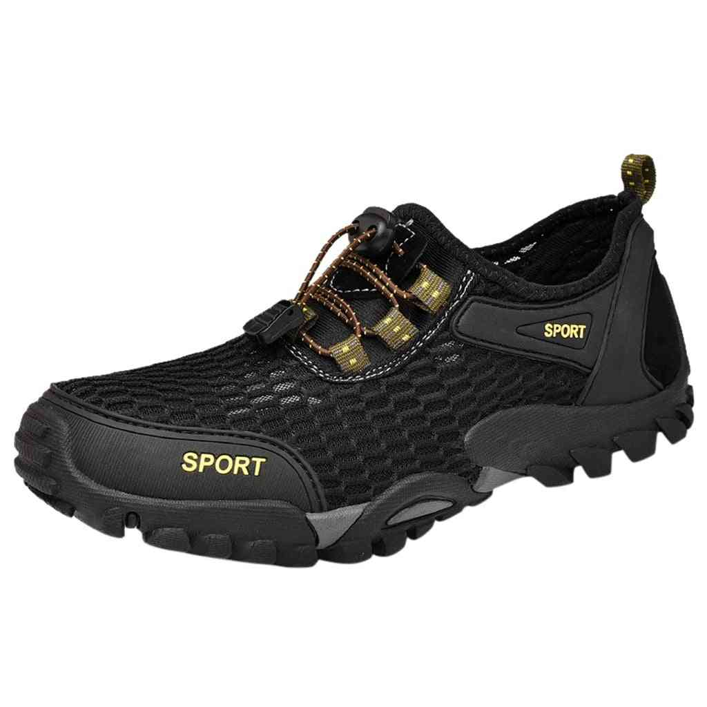 Summer Breathable Leisur Men's Water Shoes- Swim Drawstring Creek Diving Shoes