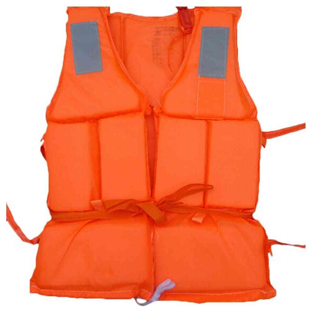 Lightweight And Durable Life Sos Whistle Jacket For Water Sports