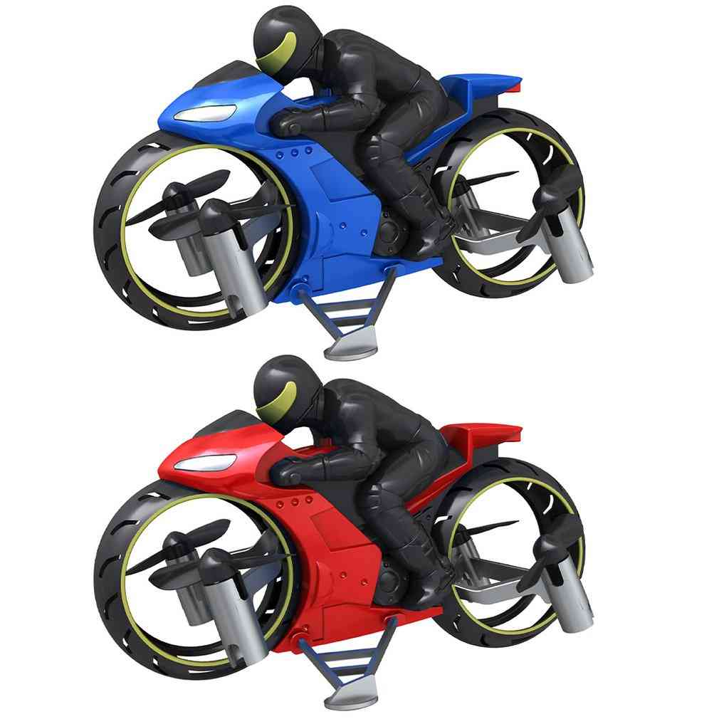 Remote Control, Four-axle, Uav Light Aircraft Motocycle Toy For