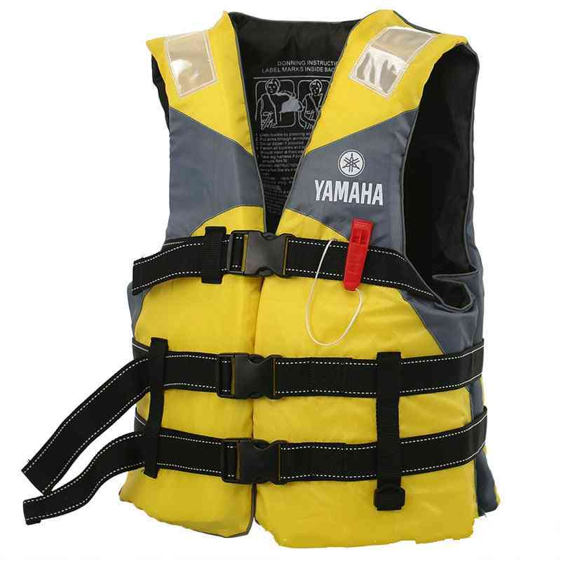 Outdoor River Rafting Crotch Straps Life Vest Jacket For Adult