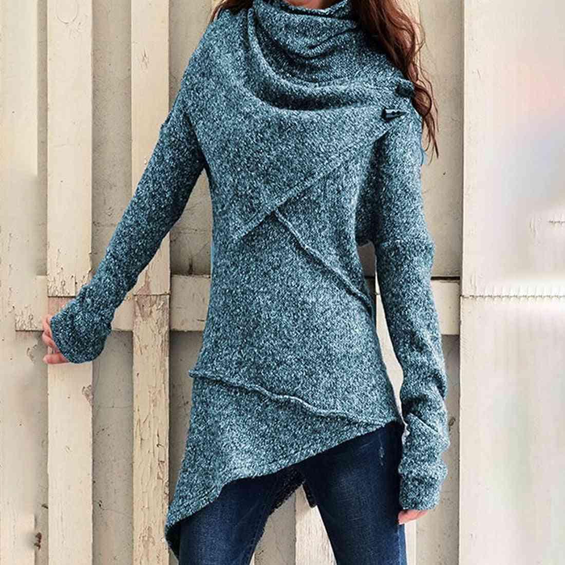 Women Long Sleeve Jumpers / Sweaters, Slim Pullover