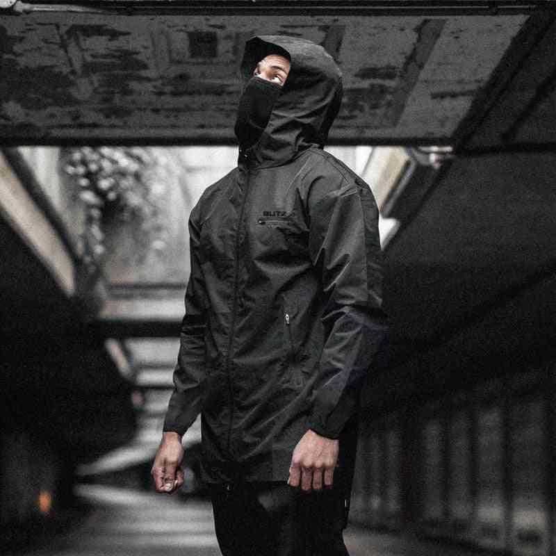 Winter & Autumn Hoodies, Sport Shirt Men Hat Zipper Running Jackets