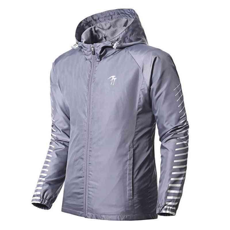 Women & Men Sports Jacket, Spring / Autumn Running Windproof Jogging Coat