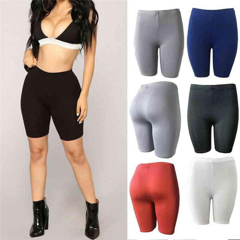 Women Workout Skinny Push Up Shorts