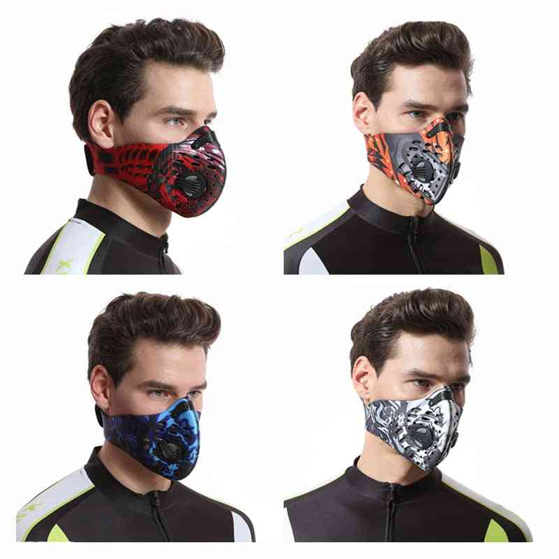 Washable, Anti-pollution, Activated Carbon Filter - Face Mask