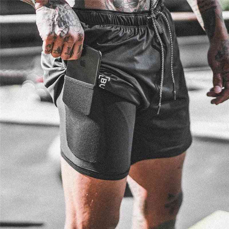 Men's Double-deck Quick Drying Shorts