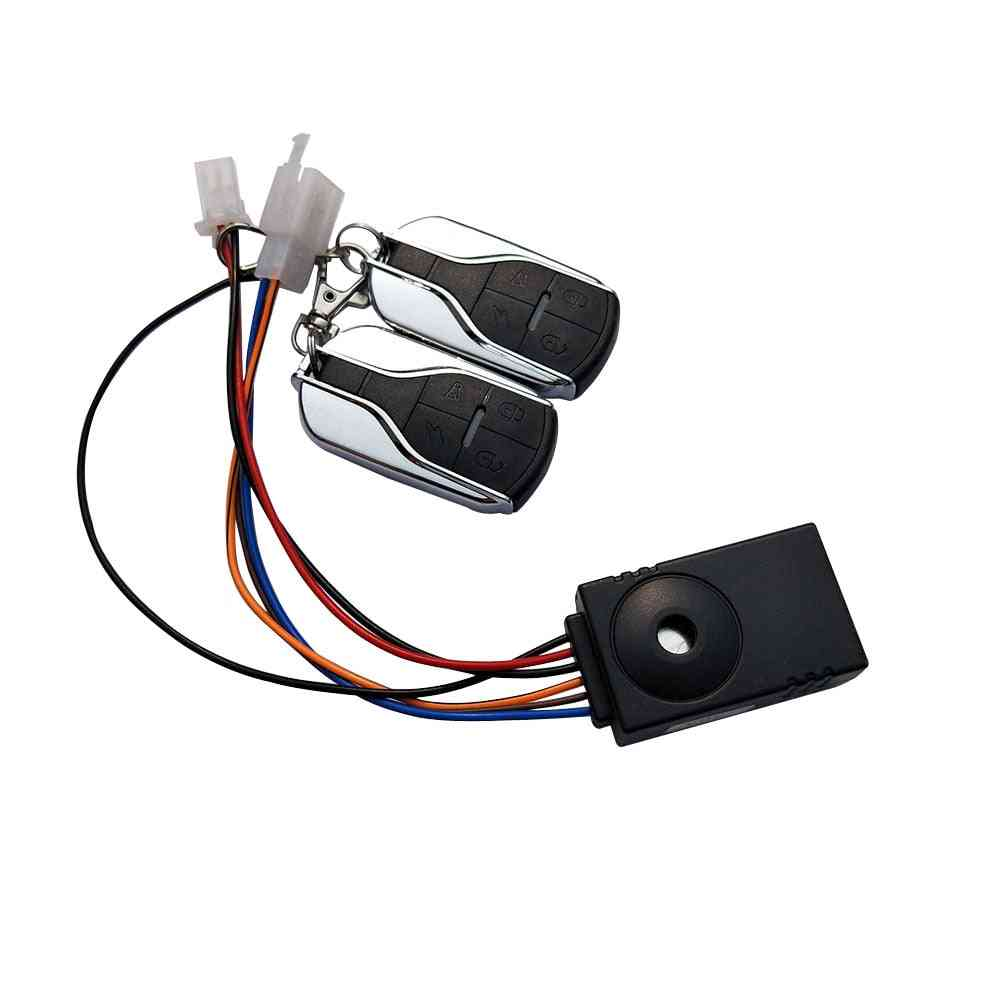 E-bike Alarm System With Two Switch