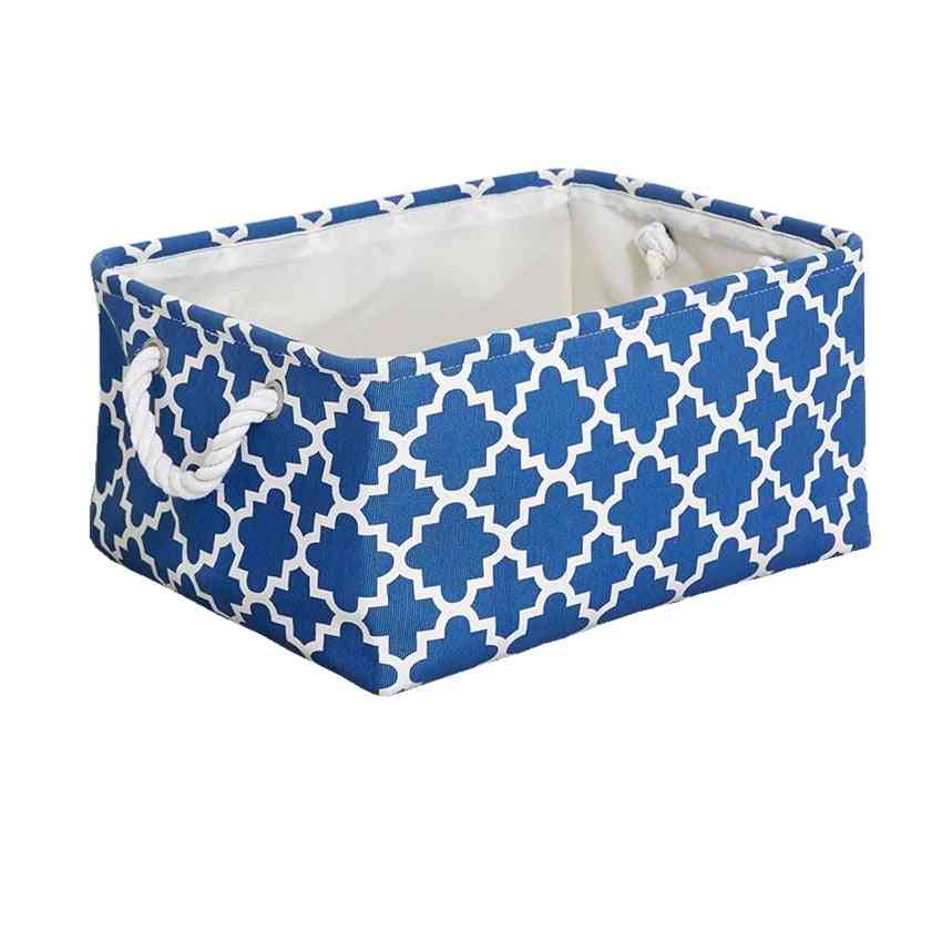 Eco-friendly Laundary Basket With Durable Cotton Handles