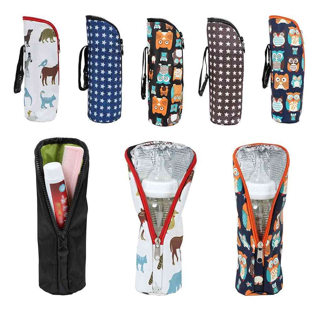 Waterproof And Lightweight Insulated Cover For Baby Milk Bottle