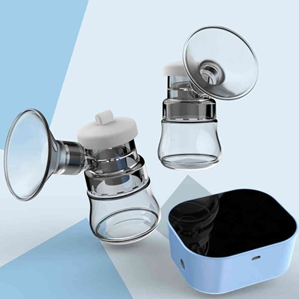 Electric Breast Pump - Powerful Intelligent Bpa Free Automatic Milk-extractor
