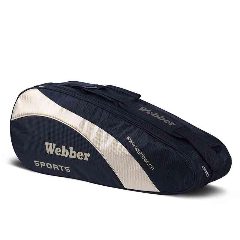 Athlete's Sports Training Bag For Storing Badminton Rackets