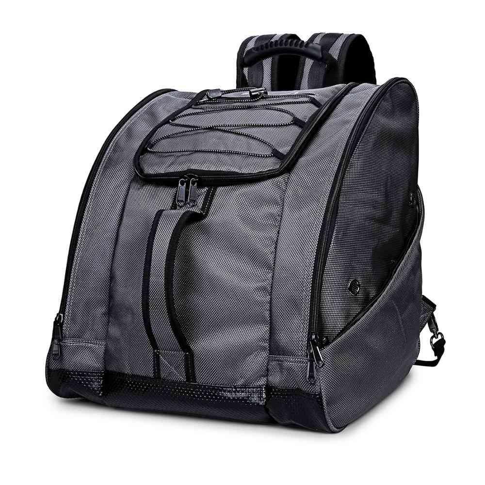 Outdoor Ski Boot Bag With 2 Pockets And Shoulder Strap