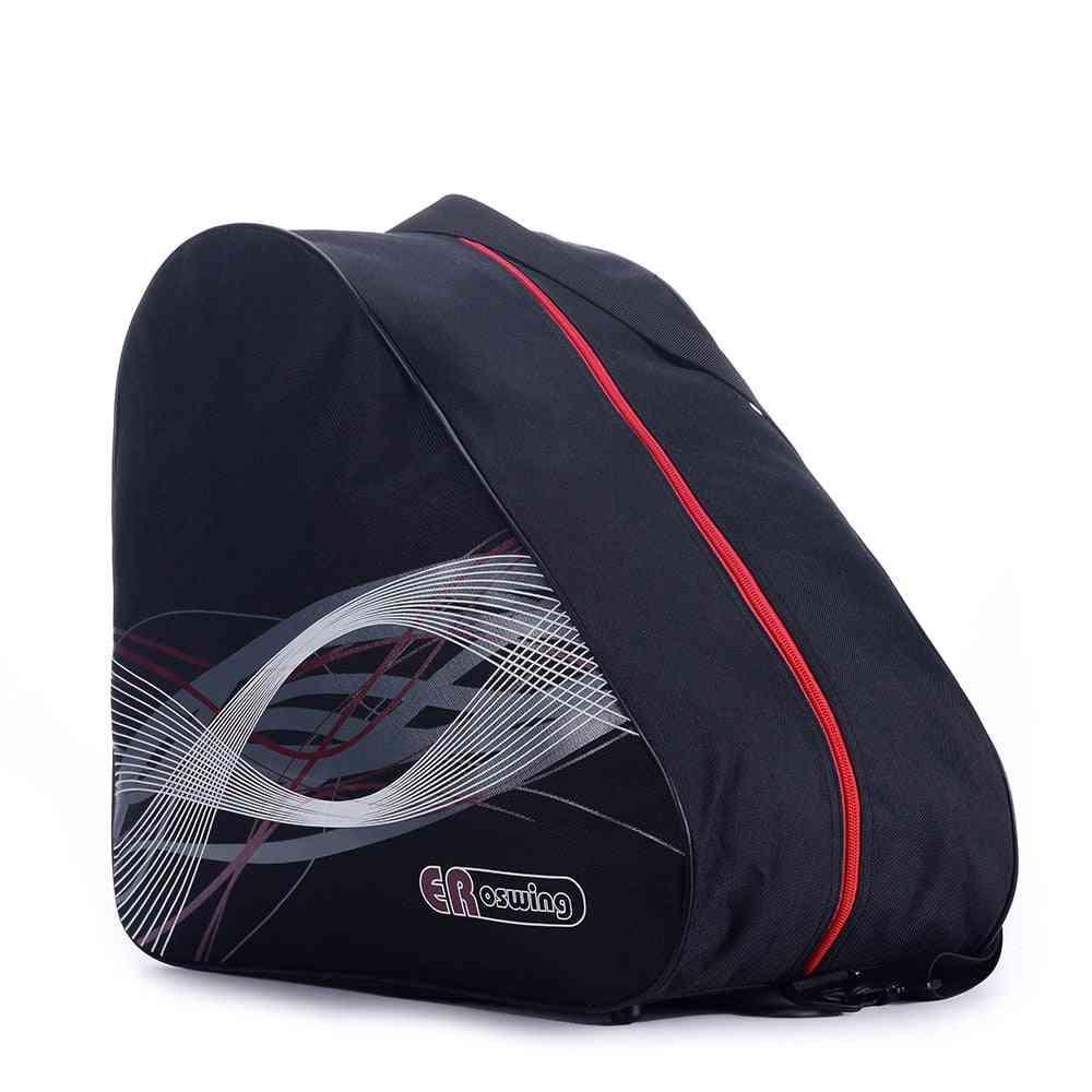Portable Ice Skating Boots Shoulder Bag