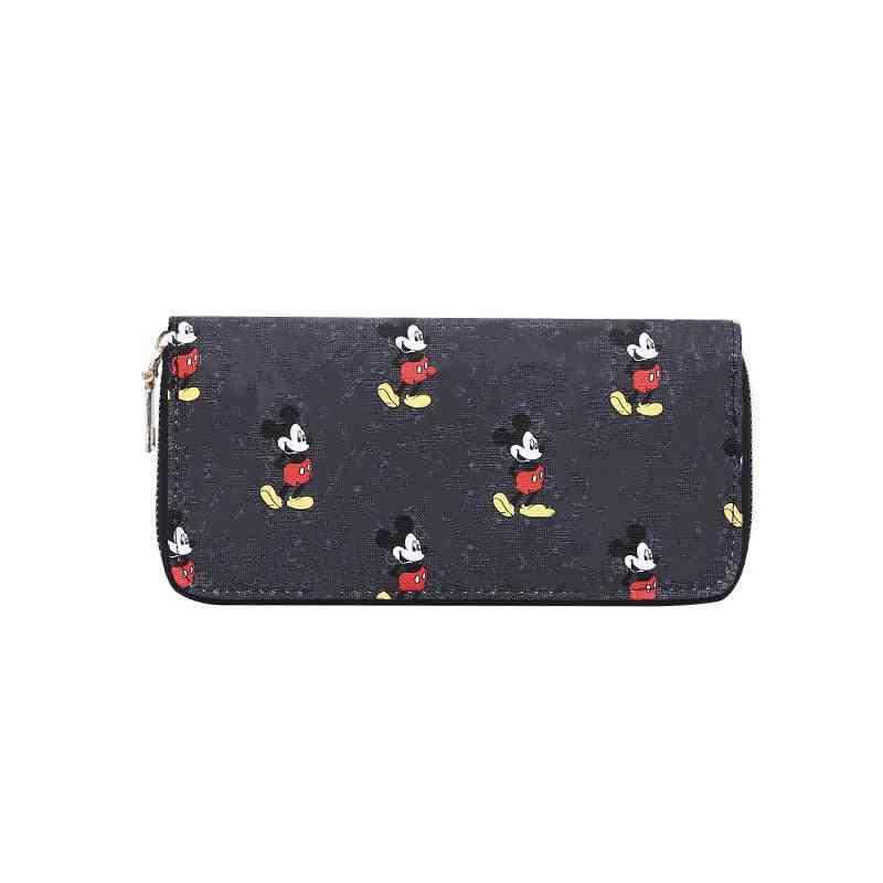 Children Mickey Mouse Wallet Lady / Boy Coin Purse Cartoon Bag