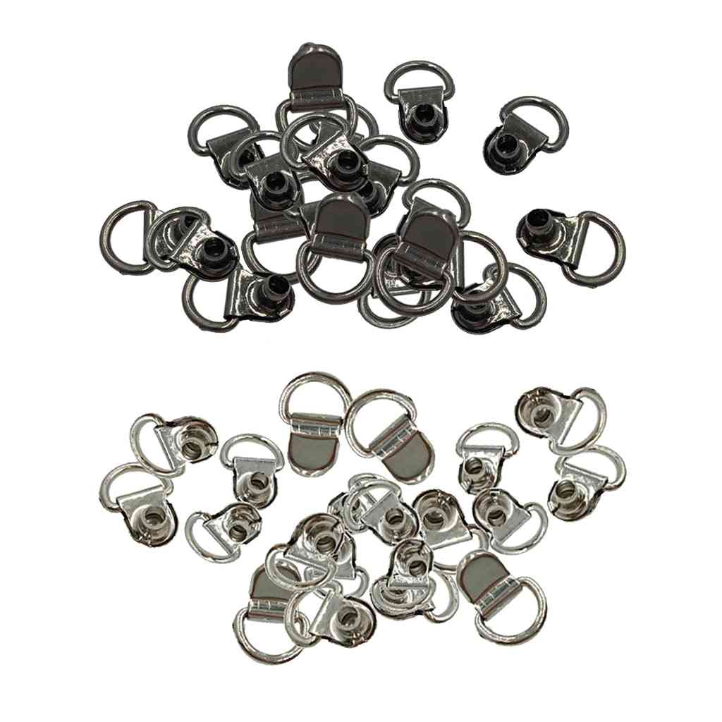 Shoe Lace Buckles/hooks For Camping/climbing/hiking