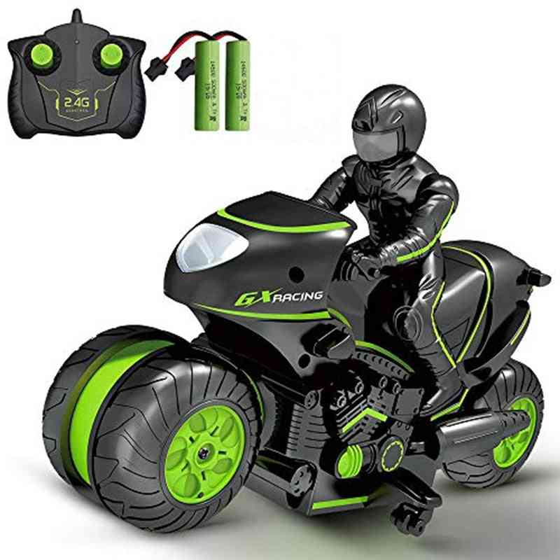 Electric Mini Motorcycle Remote Control Car, Motorbike 360 Degree Rotation