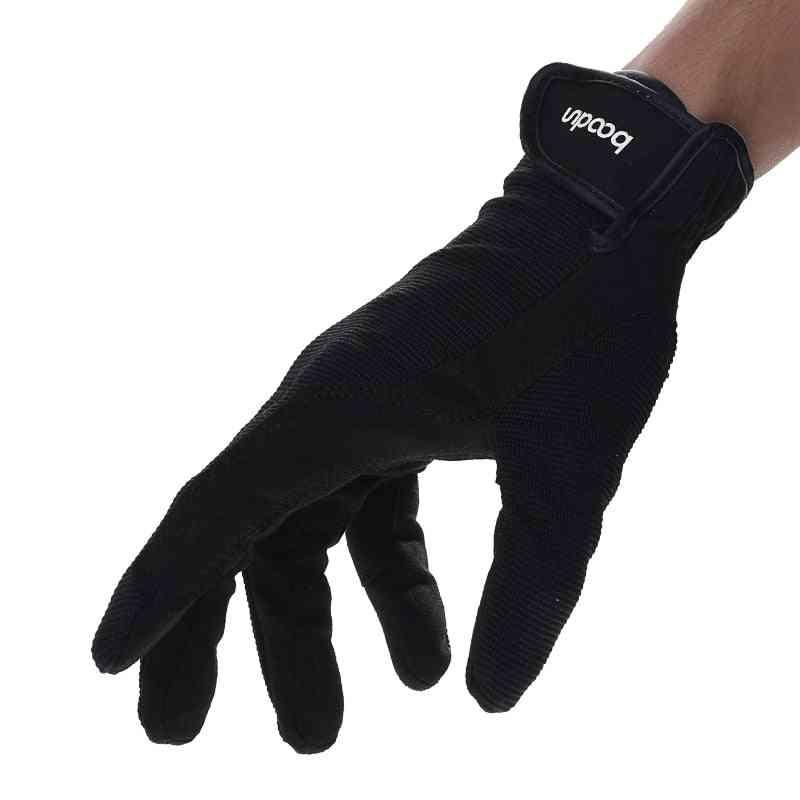 Adjustable Baseball Sports Gloves, Horseback Accessories Riding Glove