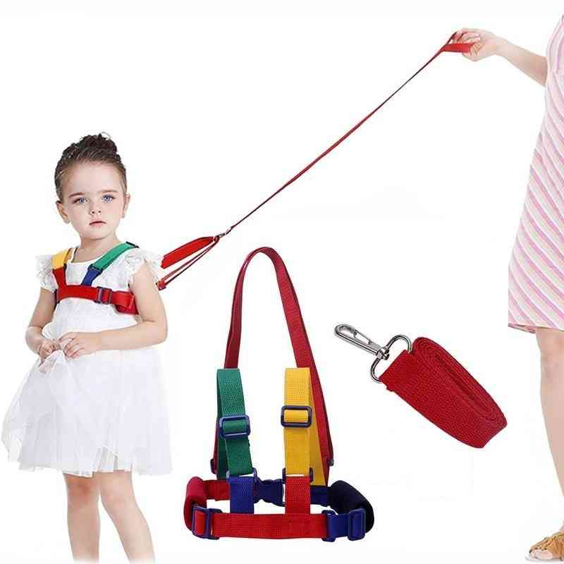 Children Cosy Traction Anti-lost Learning / Walking Infant Safety Belt Harness Leashes