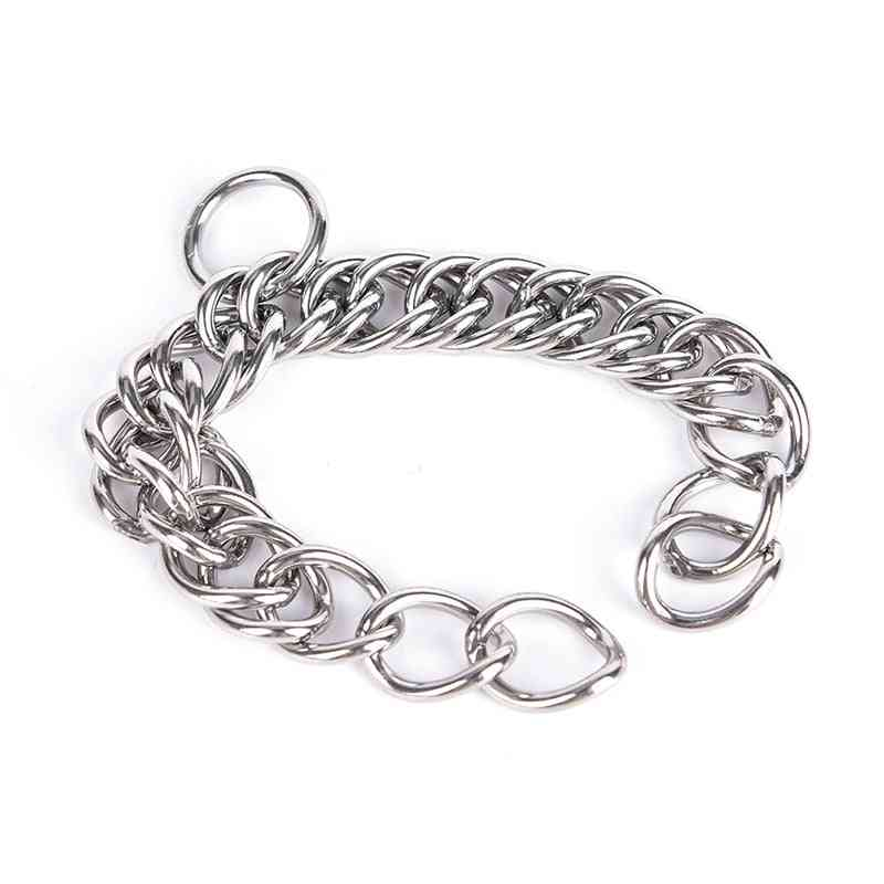 Stainless Steel Double Link Curb Chain For Pet Horse Bits