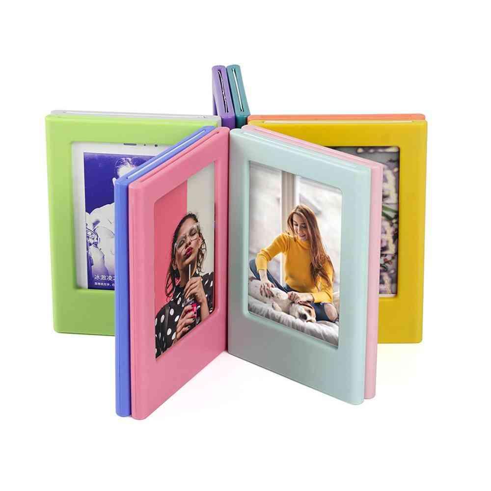 Magnetic Photo Frame, Diy Assembly Picture Holder Decor