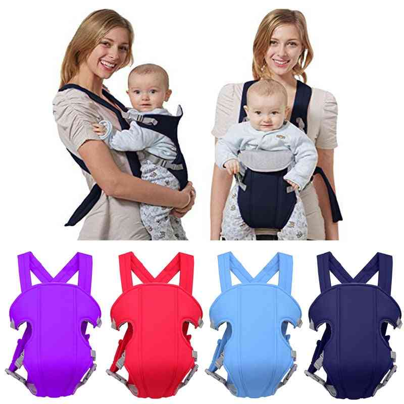 Breathable Front Facing Baby Comfortable Sling Backpack Pouch Wrap Kangaroo Adjustable Safety Carrier