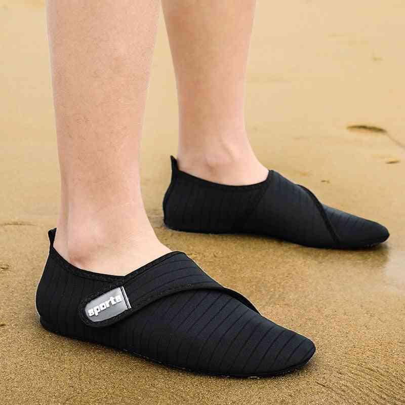 Summer Water Shoes, Men Beach Sandals Upstream Aqua Quick Dry River Sea Slippers Diving