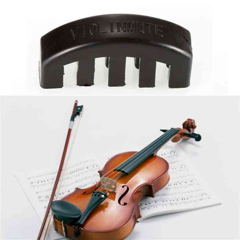 Ultra Mute Heavy Rubber Acoustic Violin, Fiddle Practice Tools