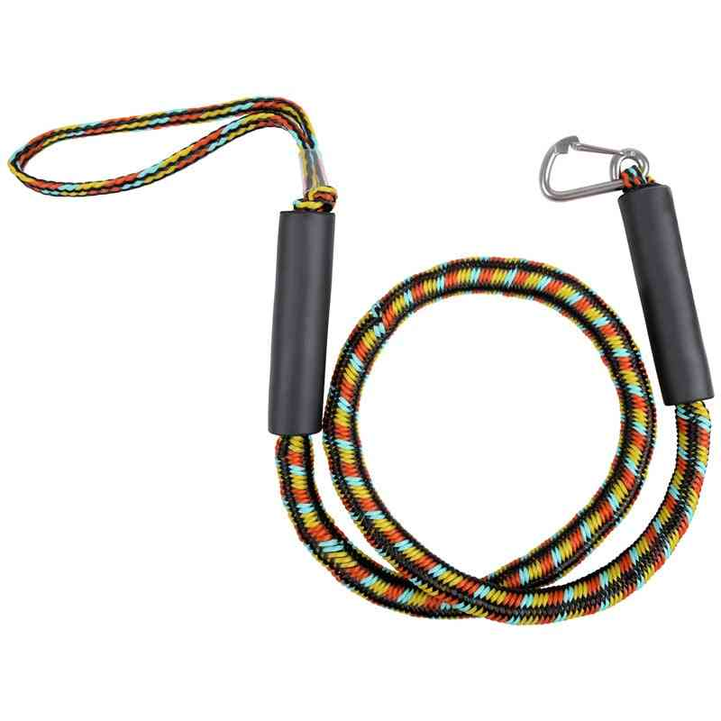Top Bungee Dock Line Stretchable Marine With Foam Float Stainless Steel Clip