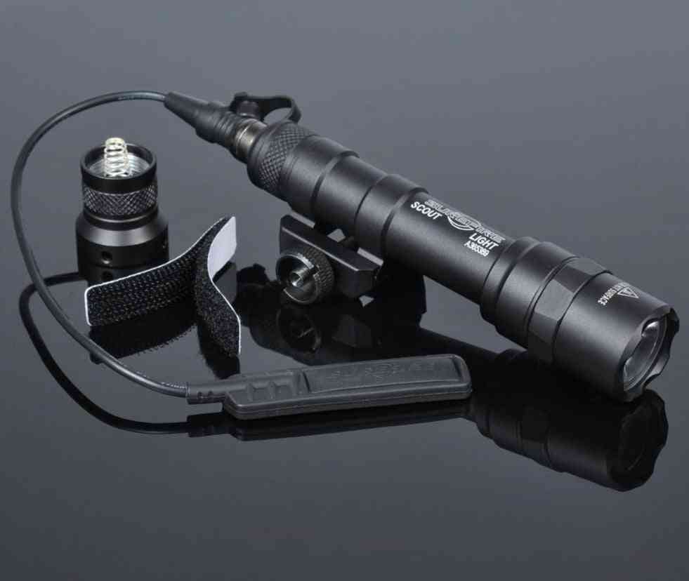 Tactical Sf M600/m600b Weapon Gun Light, Lanterna Airsoft Rifle Arma Flashlight