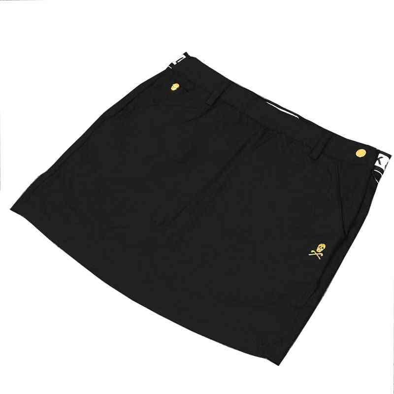Elastic Waist, Casual Sports Skirts