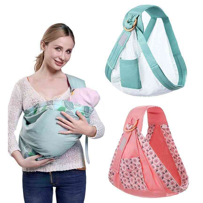 Baby Wrap Carrier-dual Use Infant Nursing Cover