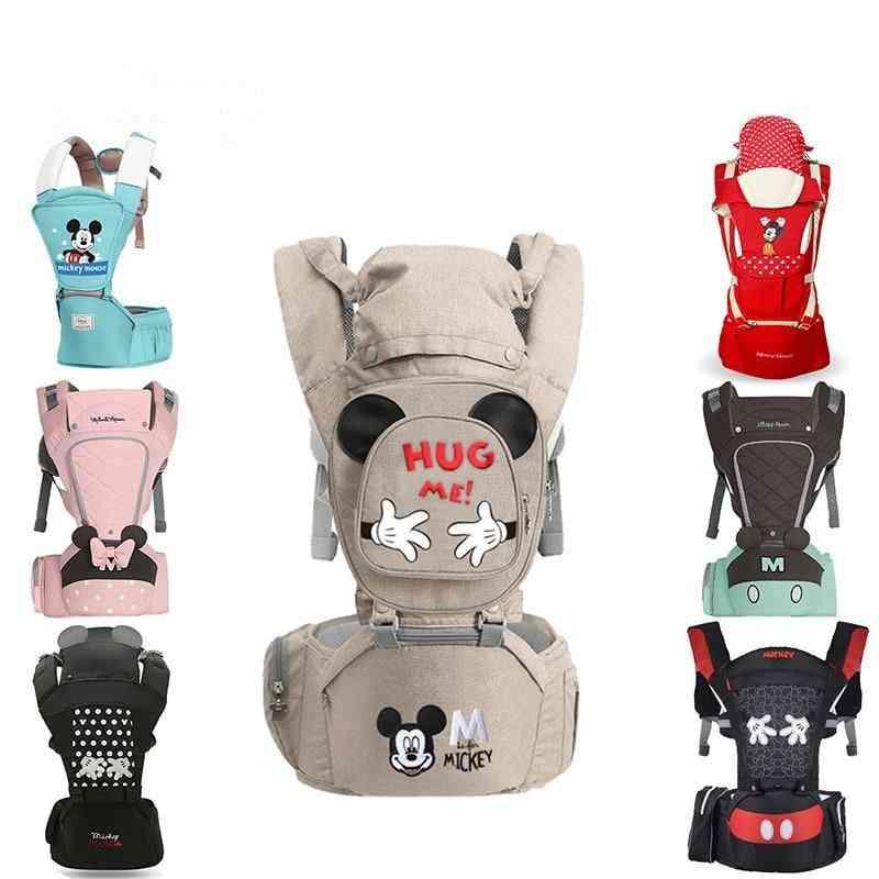 Ergonomic Baby Carrier Backpack, Infant Sling Toddler Waist Wrap Holder Kangaroo