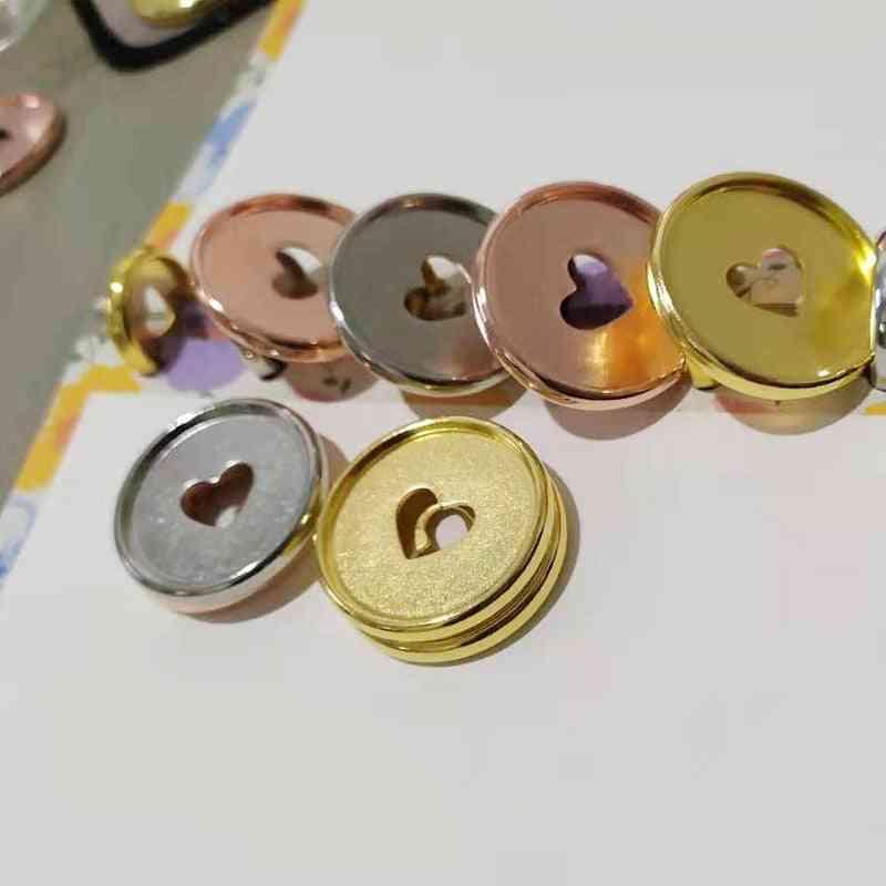 Binding Disc, Mushroom Hole Button Notepad Plastic Buckle