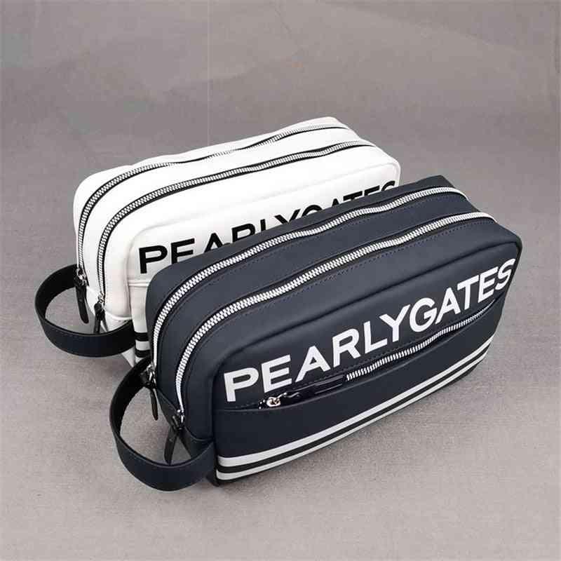 Small Golf Ball Bag, Pearly Gates Portable Mini Handbag
