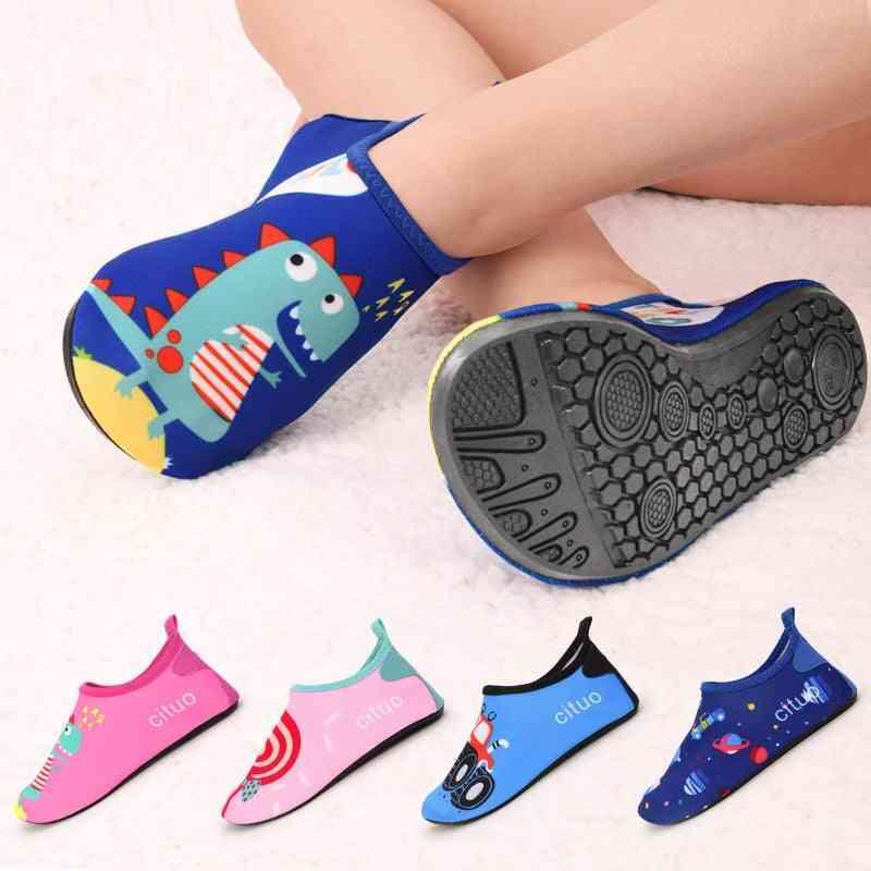 Baby Soft Floor Indoor Slipper Snorkeling Swim Socks, And Anti-slip Slippers