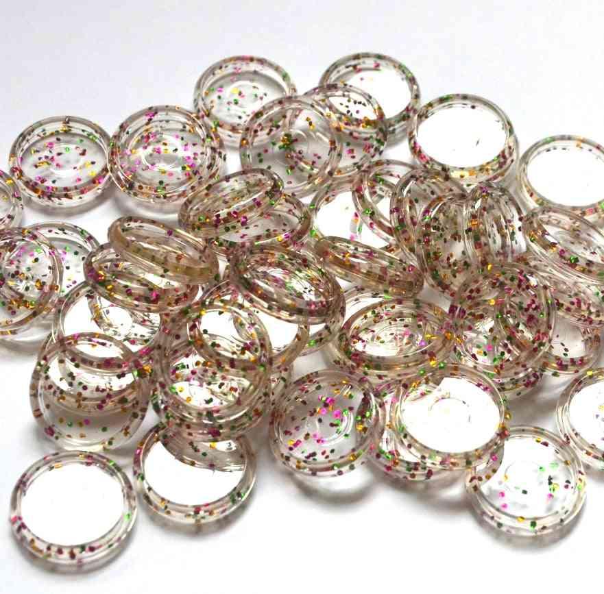 Binding Plastic Round Discs, Binder Accessories Mushroom Hole