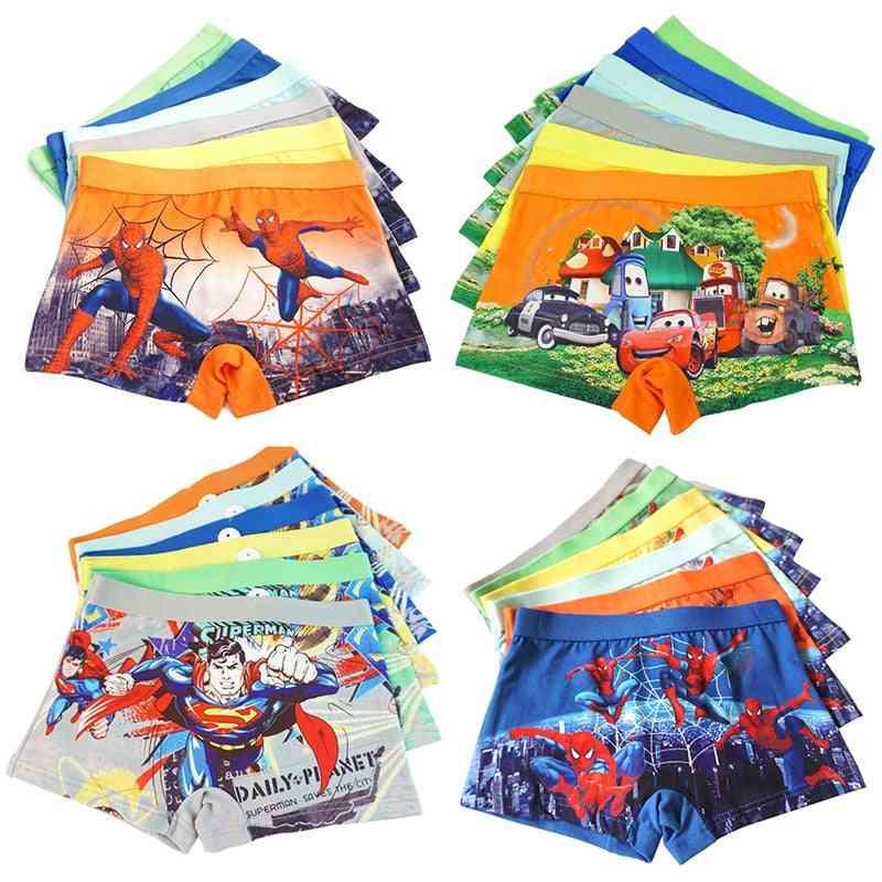Baby Underwear Panty, Car & Cartoon Printed Underpants