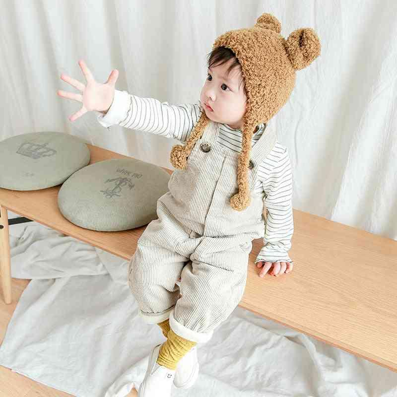Baby Overalls Solid Corduroy Winter & Pants